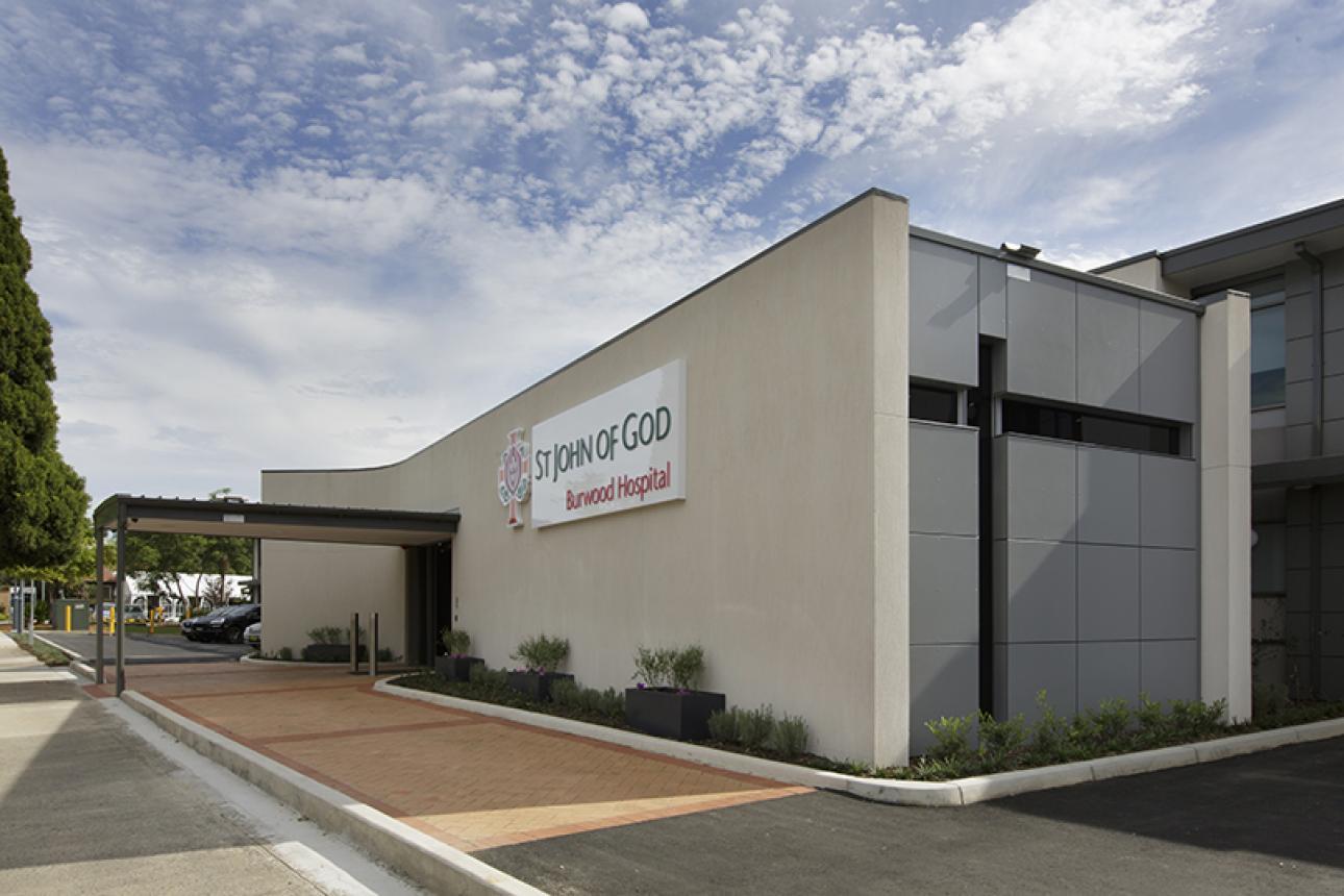 St John of God Hospital Burwood | Grindley